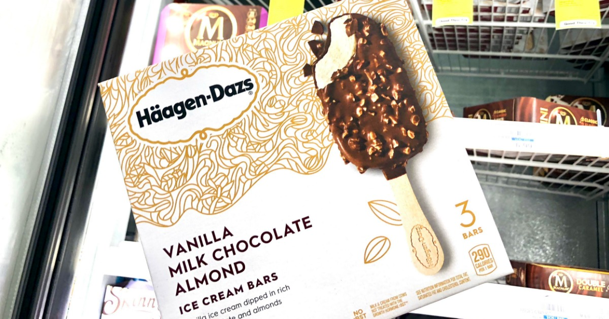 photograph regarding Haagen Dazs Printable Coupon called Haagen-Dazs Ice Product Bars Simply $2.32 at CVS - Hip2Preserve