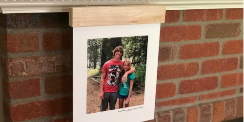 Personalized Wood Photo Panel Only $7.50 (Regularly $30) + FREE Walgreens Same-Day Pickup
