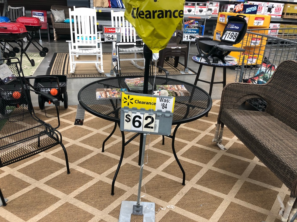 50% Off Outdoor Patio Furniture At Walmart