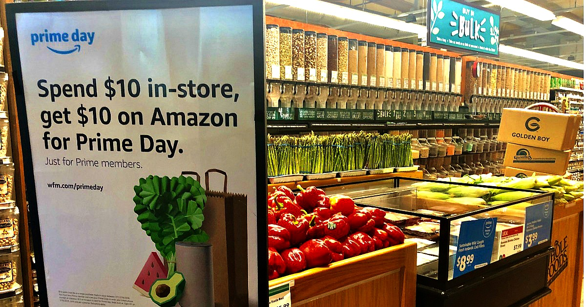 amazon prime day deals are coming! - Whole Foods Prime Day sign
