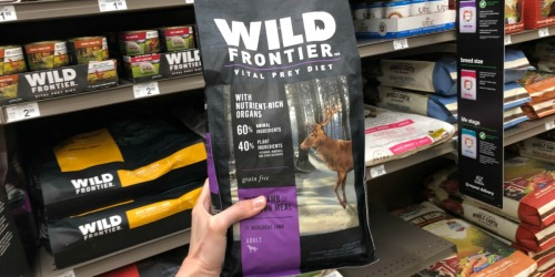 Free Large Wild Frontier Dog Food Bag at Petco ($23 Value)