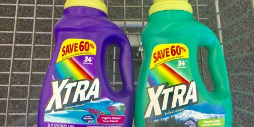 Xtra Laundry Detergent Only 99¢ at Walgreens (Online & In-Store)