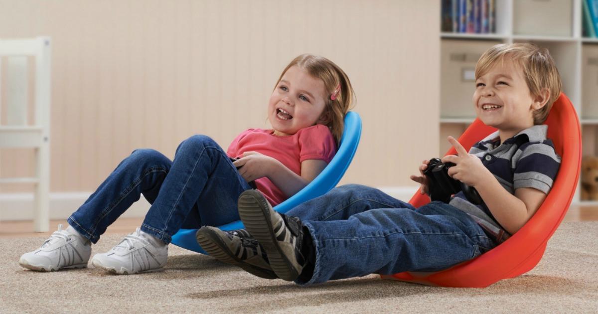 Yessenia Kids Scoop Rocker Novelty Chair
