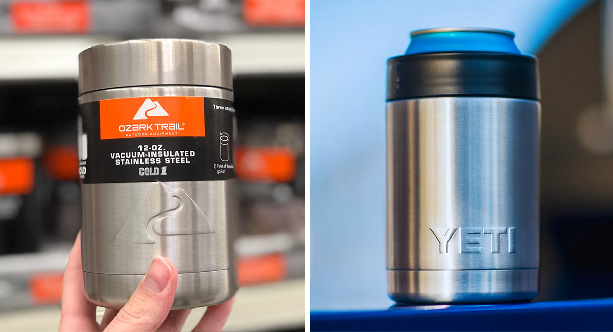 walmart and amazon coolers tumblers as good as yeti — can coolers