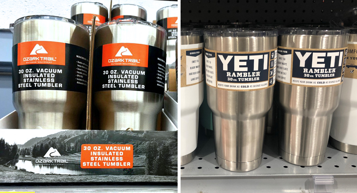 walmart and amazon coolers tumblers as good as yeti — 30 oz tumblers
