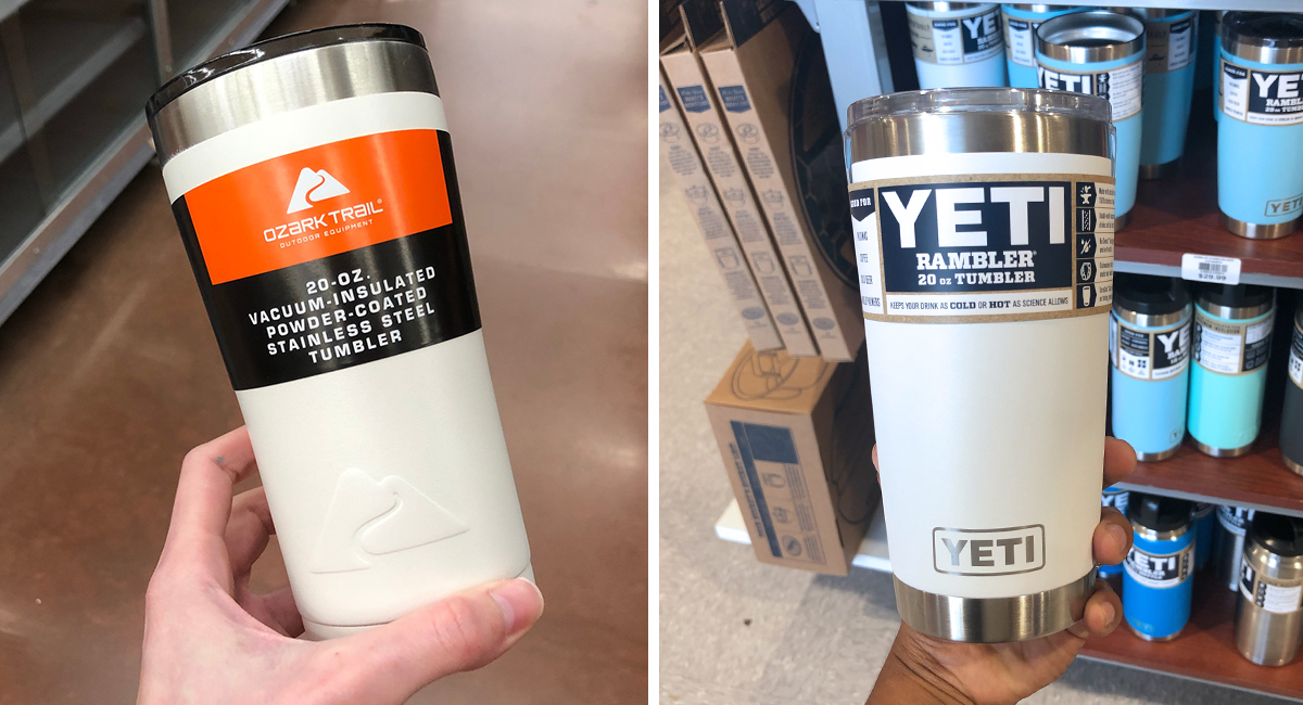 walmart and amazon coolers tumblers as good as yeti —20oz tumblers
