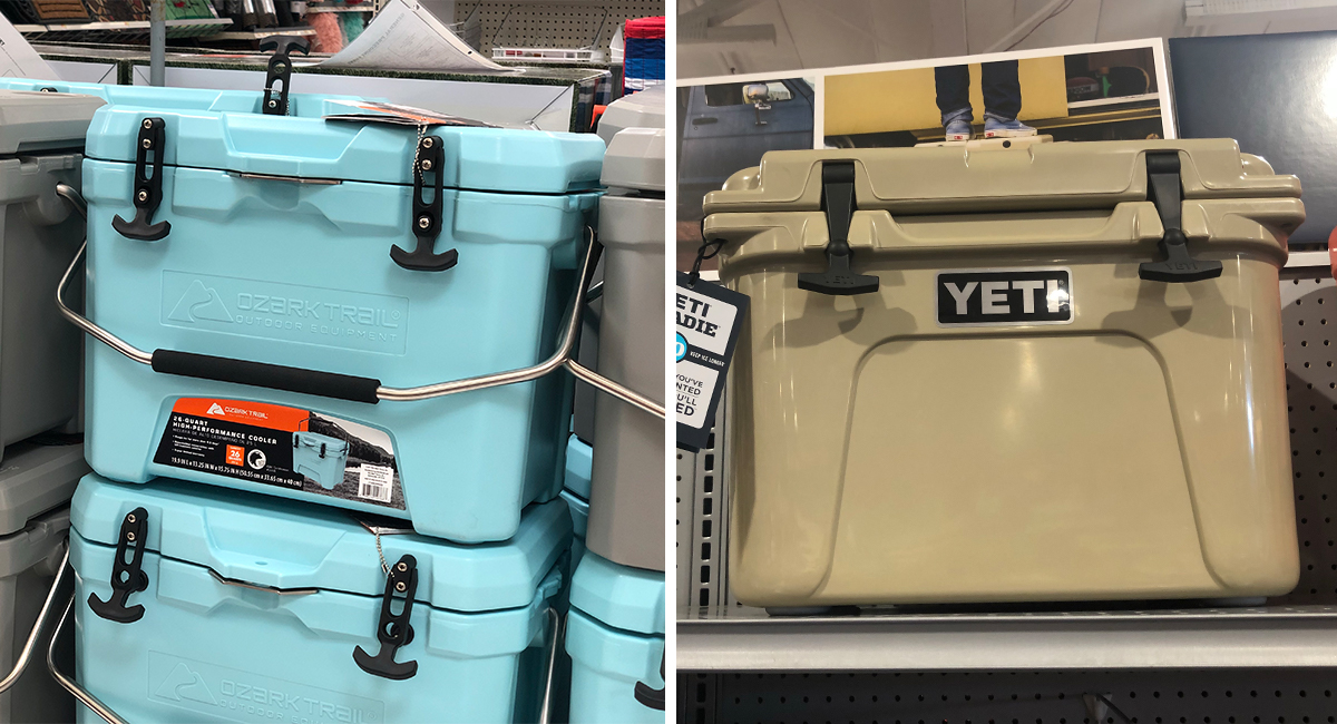 walmart and amazon coolers tumblers as good as yeti — small travel coolers