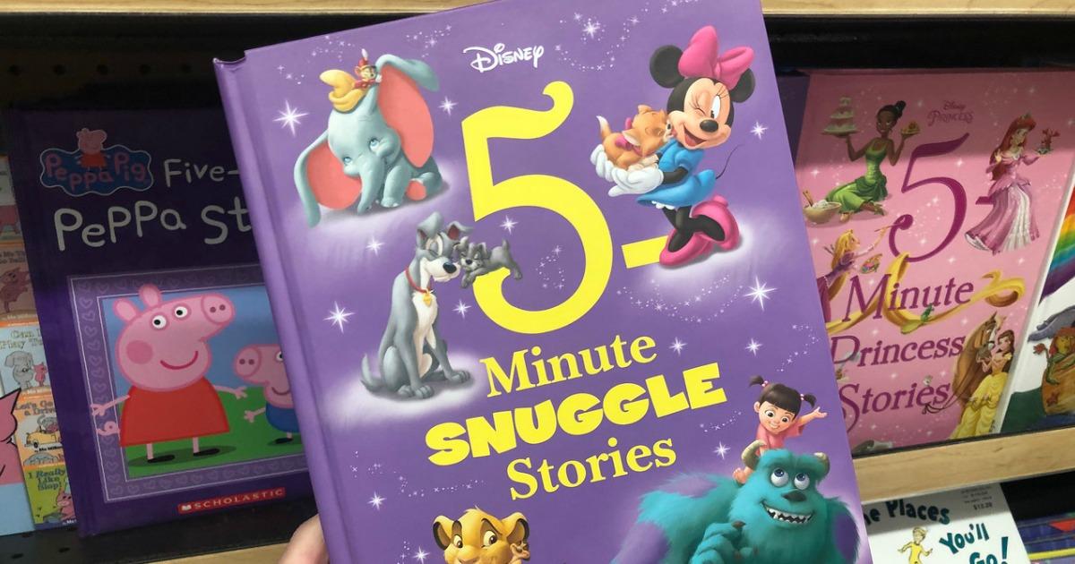 Disney book, 5 minute snuggle stories