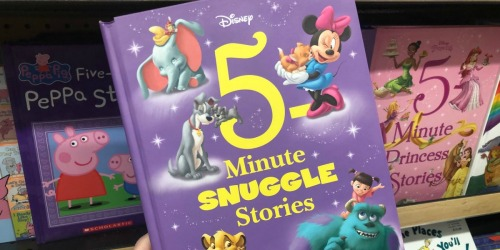 $5 Off $20 Book Purchase at Target | Save on Disney 5-Minute Stories, Michelle Obama, My Weird School & More