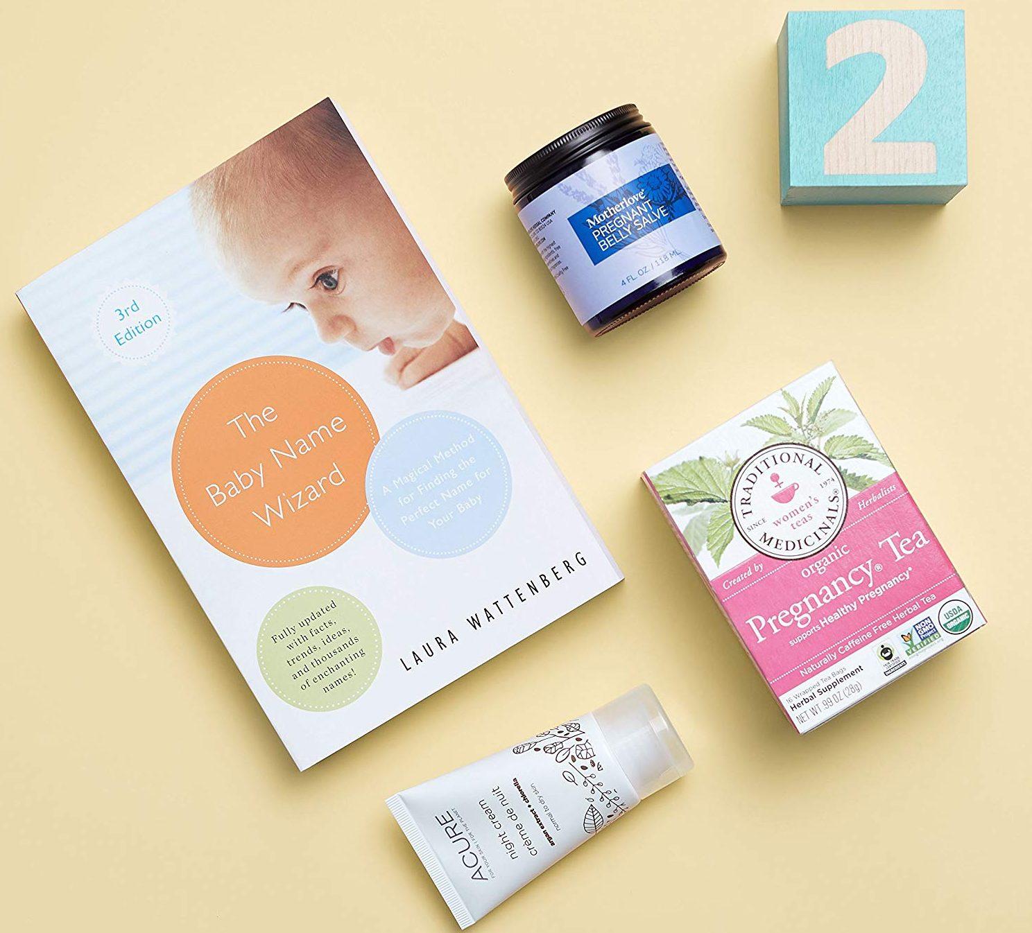 free Amazon Registry baby box – Amazon maternity box 2nd trimester