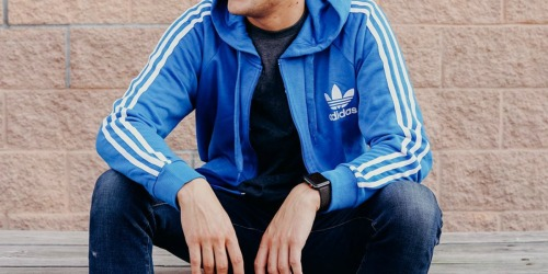 adidas Men's Trefoil Zip Hoodie Just $25.49 Shipped (Regularly $90) + More