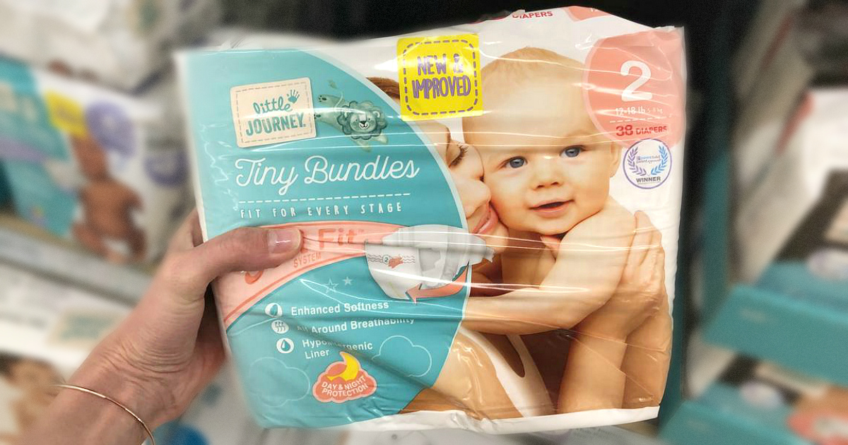 These ALDI Little Journey diapers are a great baby deal