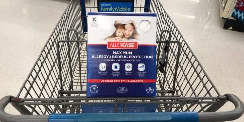 Rare & High Value $5/1 AllerEase Mattress Protector Coupon (10 Year Warranty)
