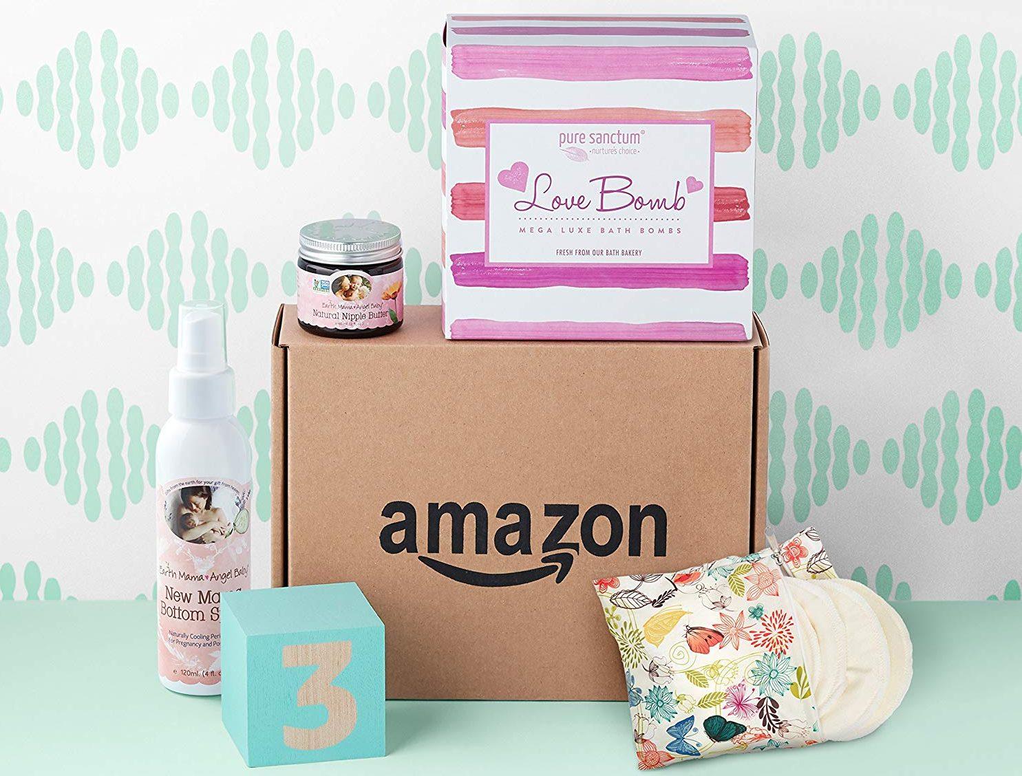 free Amazon Registry baby box – Amazon baby box 3rd trimester