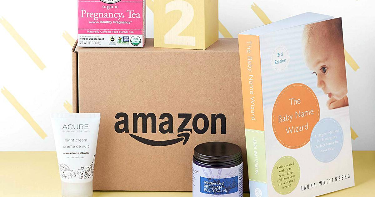 free Amazon Registry baby box – Amazon maternity box
