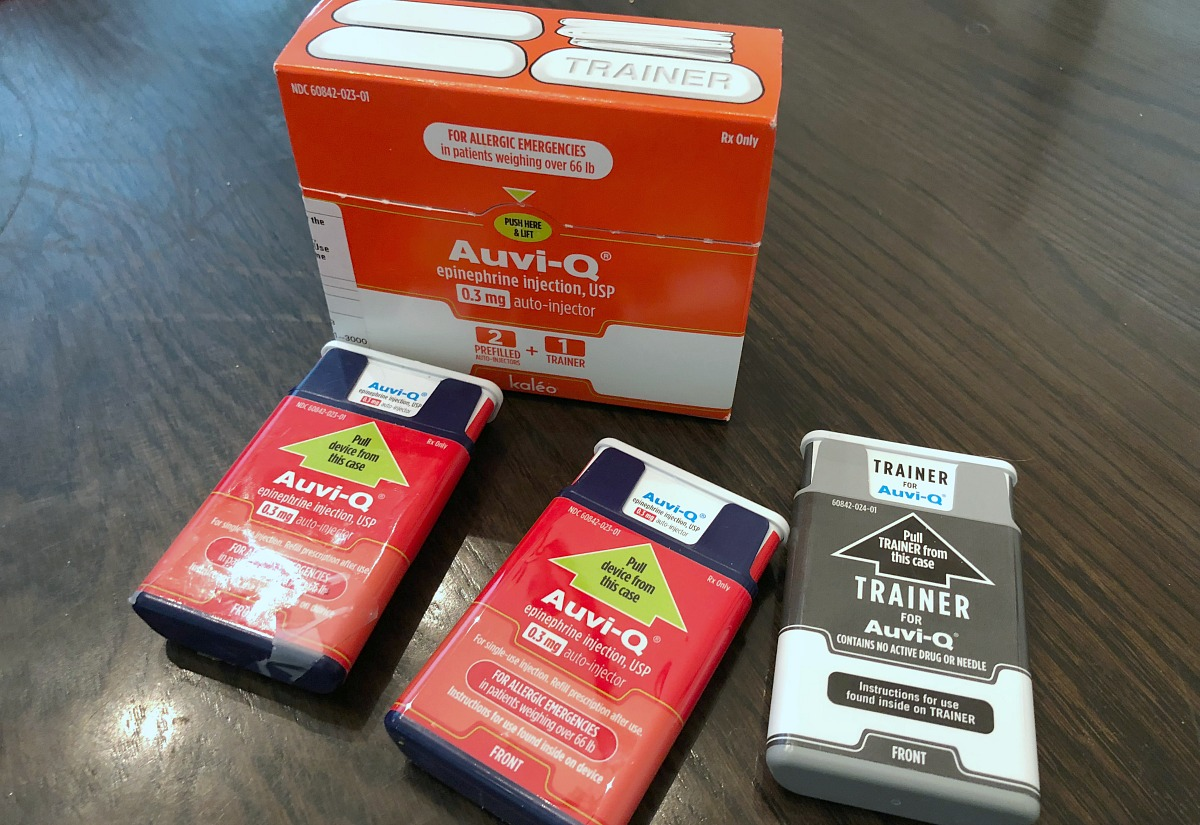 Have allergies? Get free EpiPens – Pictured, auvi-q injections and trainer