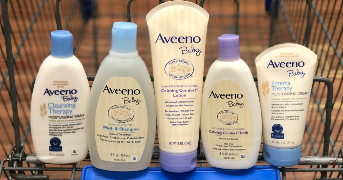 High Value 2 1 Aveeno Baby Product Coupon As Low As 2 74 At