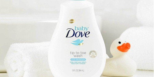 Baby Dove Body Wash & Shampoo Only $3.94 Shipped on Amazon