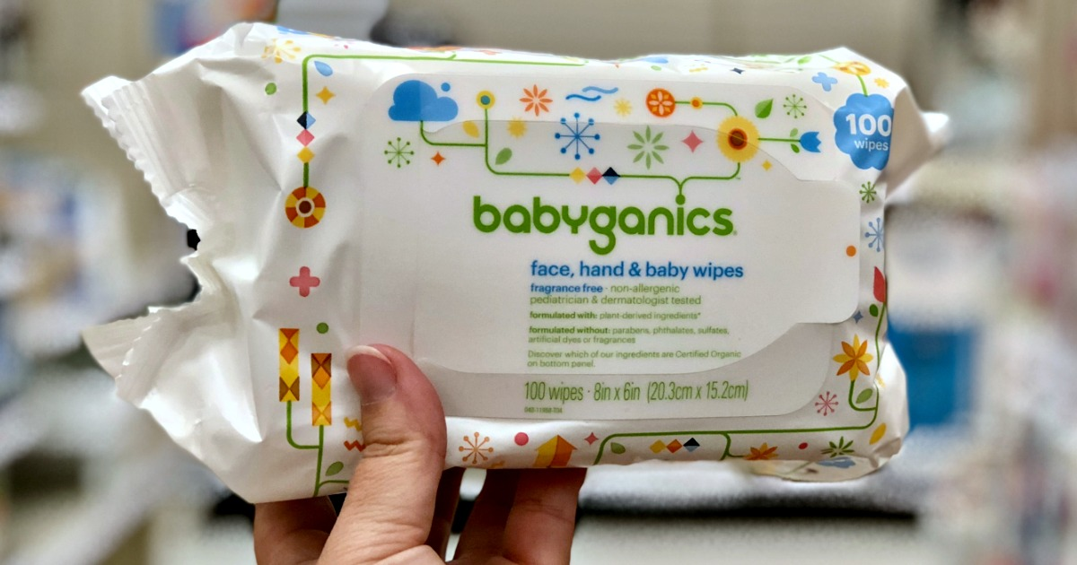 graphic regarding Babyganics Coupon Printable identified as Babyganics Little one Wipes Just $1.32 As soon as Concentration Present Card