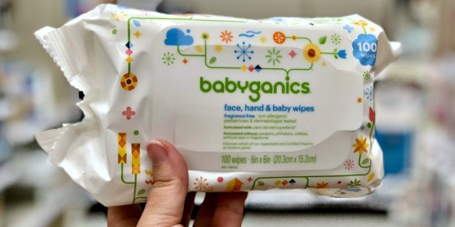 Up to 60% Off Baby Essentials at Amazon | Babyganics, WaterWipes & More