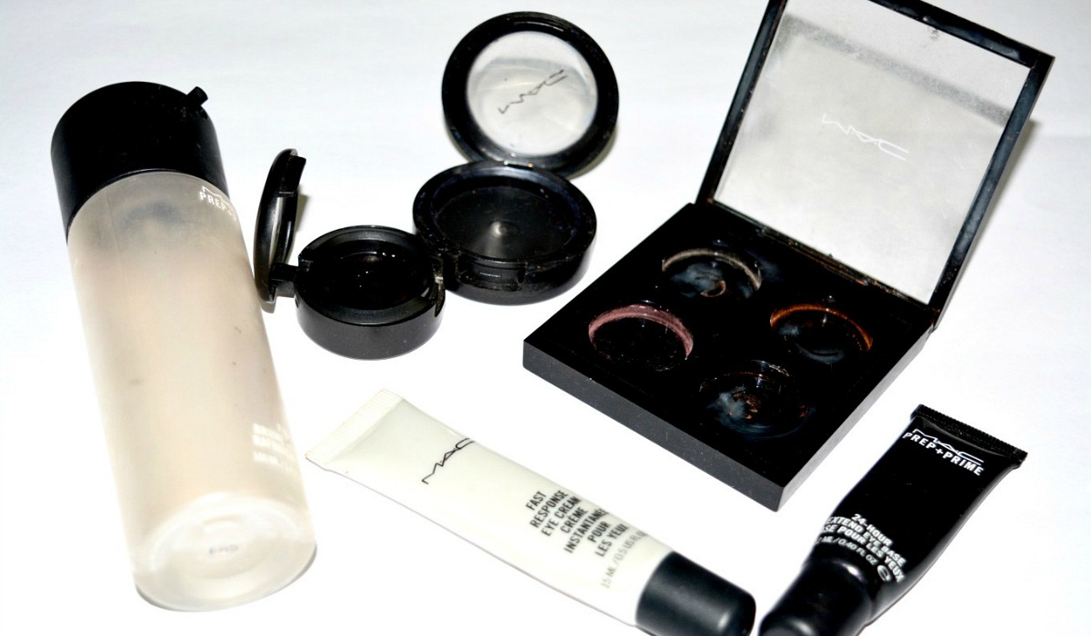 clever makeup hacks – mac cosmetics empty packages from makeup beauty forever