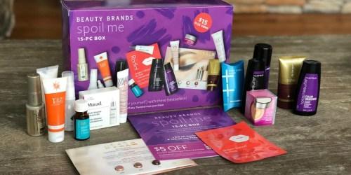 Beauty Brands Spoil Me 15-Piece Beauty BoxOnly $11.50 (Over $100 Value)