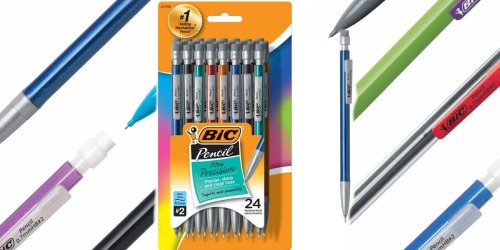 BIC Xtra-Precision Mechanical Pencils 24-Count Only $3.78 Shipped on Amazon (Regularly $13)