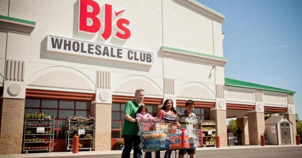 BJ's Wholesale Club store front