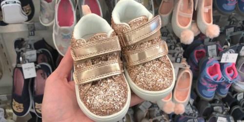 Buy One, Get One FREE Carter's & OshKosh B'gosh Kids Shoes + FREE Shipping