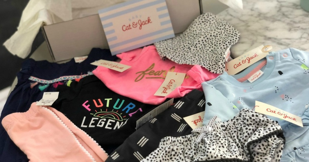 b65d51ffe While supplies last, hurry over to Target.com and score a Cat & Jack Baby  Girls Outfit Box Subscription and/or Cat & Jack Baby Boys Outfit Box  Subscription ...