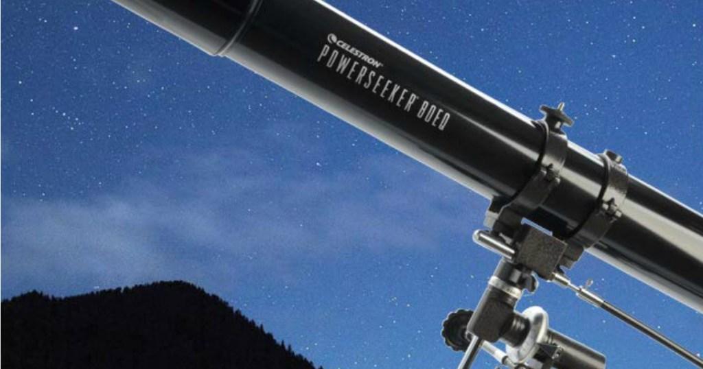 Amazon: celestron powerseeker telescope $80.53 shipped great for