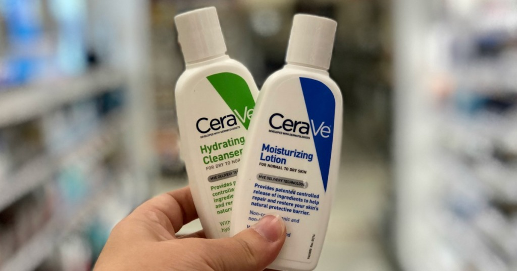 Cerave Lotions and Cleanser