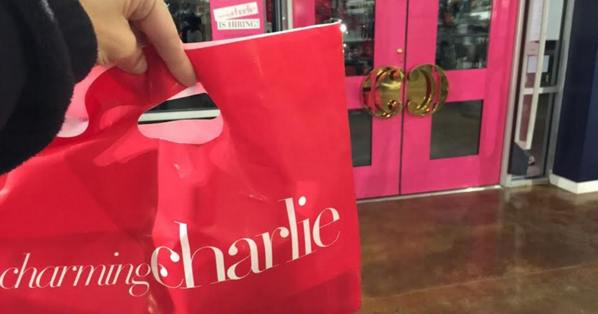Get a charming charlie free birthday voucher - Charming Charlie bag