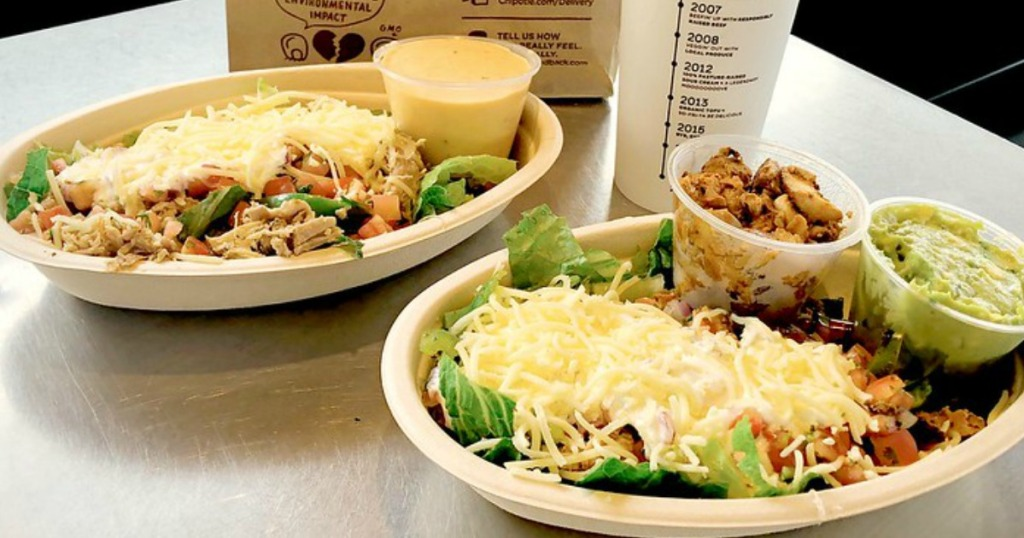 Chipotle Meals - Veteran's Day