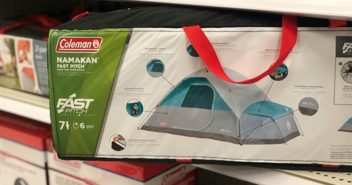Coleman 7-Person Dome Tent Only $87.49 at Target ...
