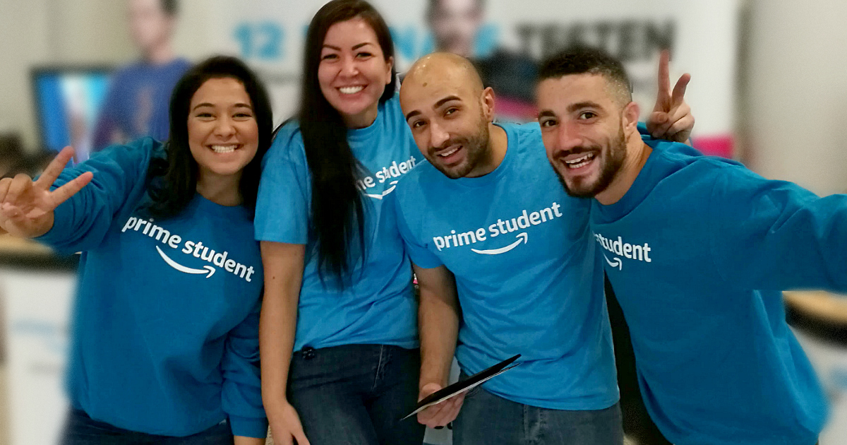 College students get a free Amazon Prime Student membership for 6 months