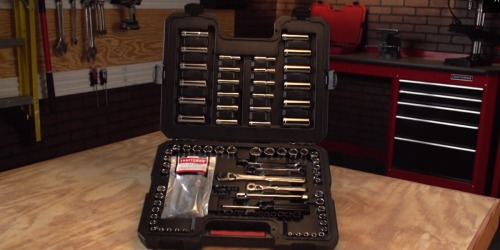 Craftsman 108-Piece Tool Set Only $50 Shipped (Regularly $100) + Get $50 Back in Points at Sears