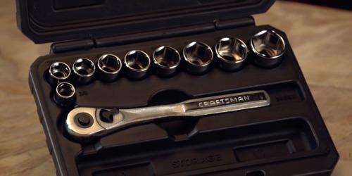 Craftsman Socket Wrench Set Only $9.99 on Sears.com (Regularly $20)