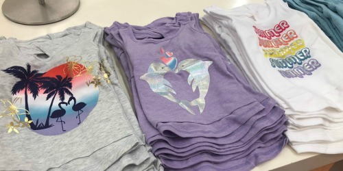 Crazy 8 Boys & Girls Tees as Low as $3.19 (Regularly $15) + More