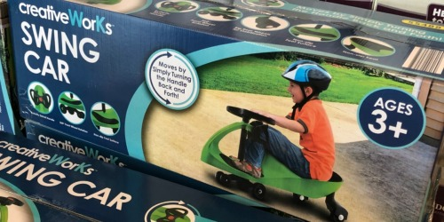 CreativeWorks Swing Car Only $19.99 at Aldi & More