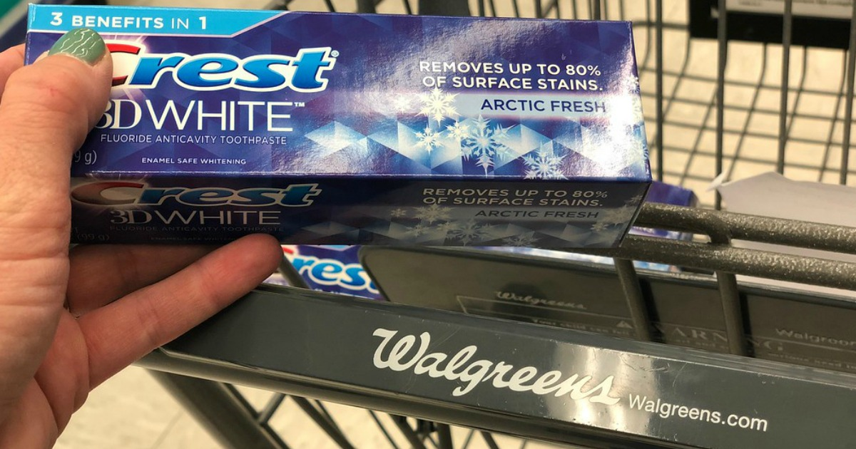 3e6d51f23 Three Crest Toothpastes ONLY  1.62 at Walgreens.com (Just 54¢ Each) -  Hip2Save