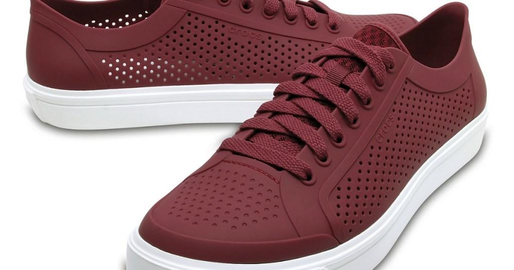 36262be486e28 Crocs Men s   Women s CitiLane Roka Court Shoes Only  15.74 (Regularly  50)
