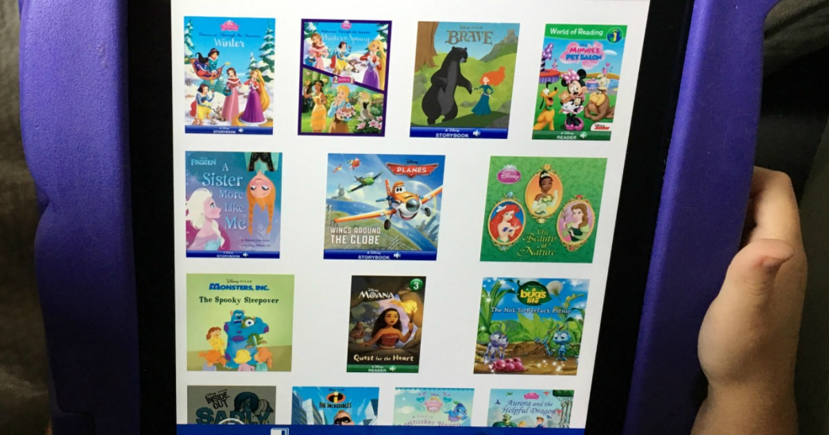 favorite kid-tested parent-approved kids apps – Disney digital story books