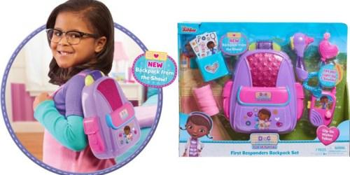 Doc McStuffins First Responders Backpack Set Only $9.72 (Regularly $20)