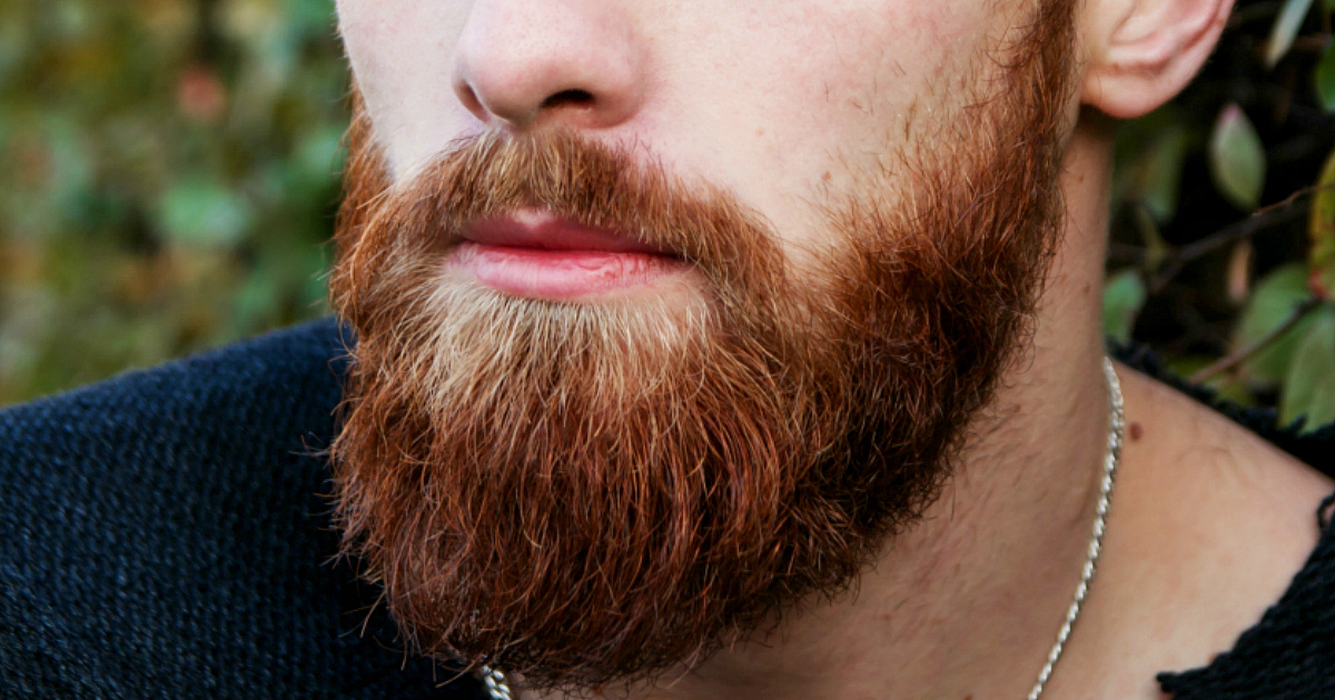 Dollar Shave Club Kit Deal – Man with a beard closeup