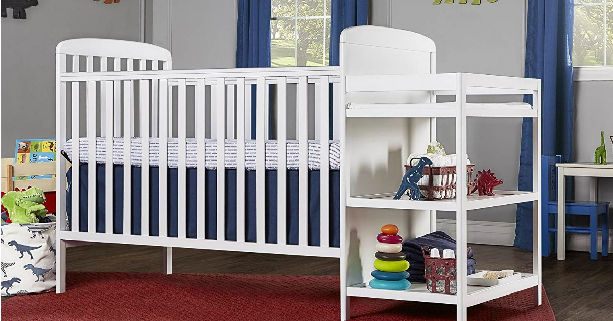 Amazon: Dream On Me 4 In 1 Crib U0026 Changing Table Only $117.99 Shipped  (Regularly $180)