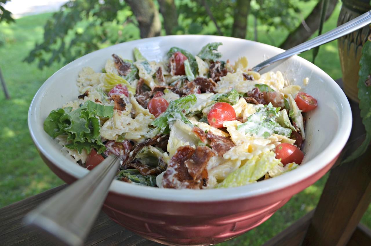 Easy Ranch BLT Salad