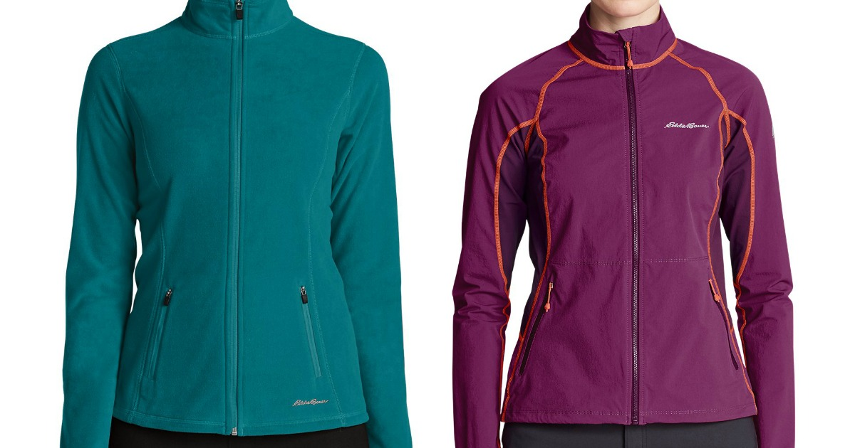 1cd6a243dc6a Eddie Bauer Women s Quest Full-Zip Jacket Only  25 (Regularly  80) + ...