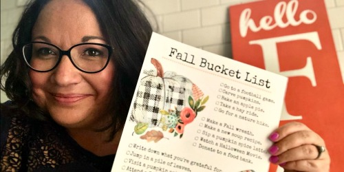 Say Hello to Fall with Our FREE Printable Fall Bucket List