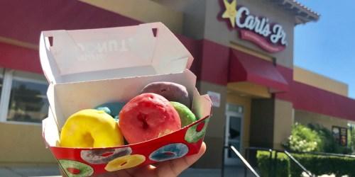 NEW Froot Loops Mini Donuts at Carl's Jr & Hardees
